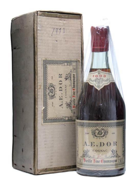 AE Dor 1893 Cognac / Vieille Fine Champagne / Bot.1960s
