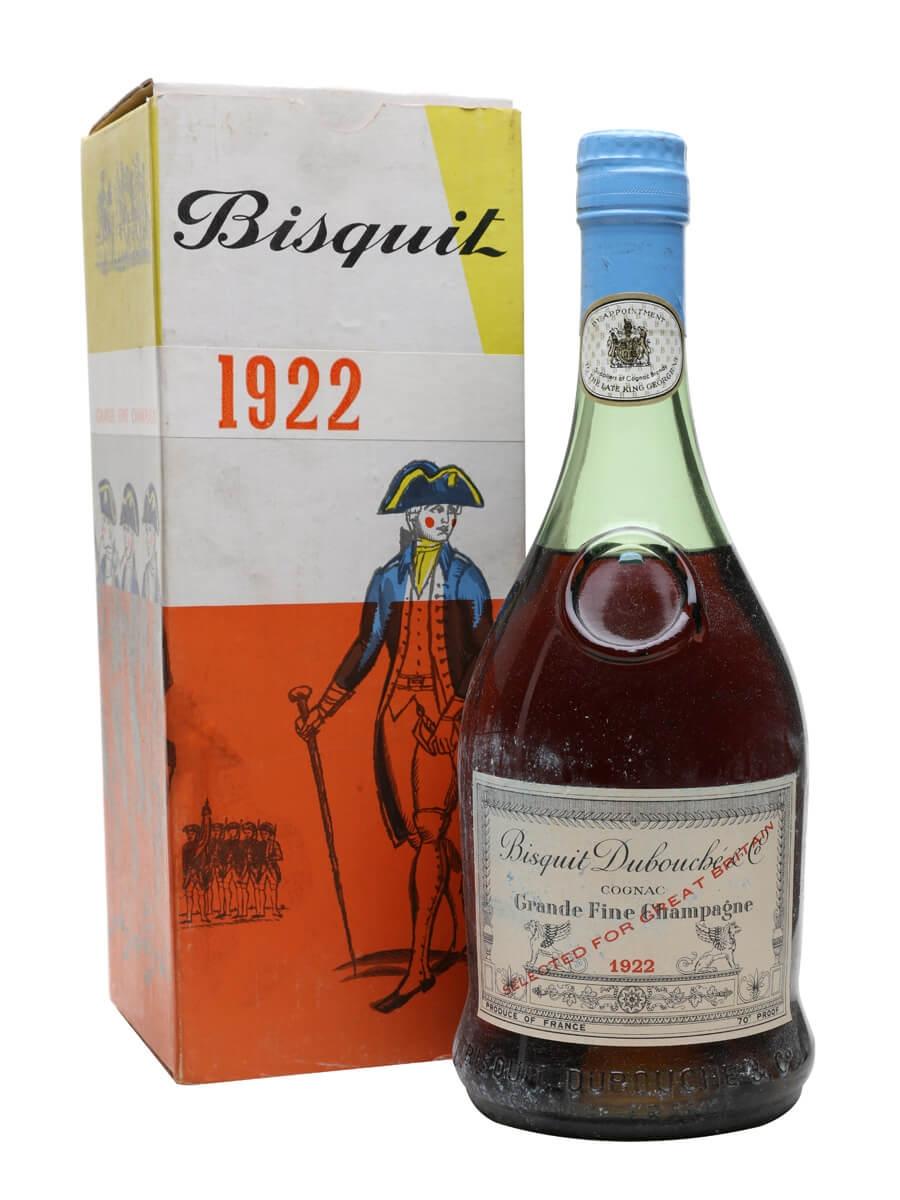 Bisquit Dubouche 1922 Cognac / Grande Champagne / Bot.1960s