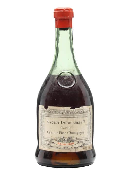 Bisquit Dubouche 1840 Cognac / Grande Champagne / Bot.1930s