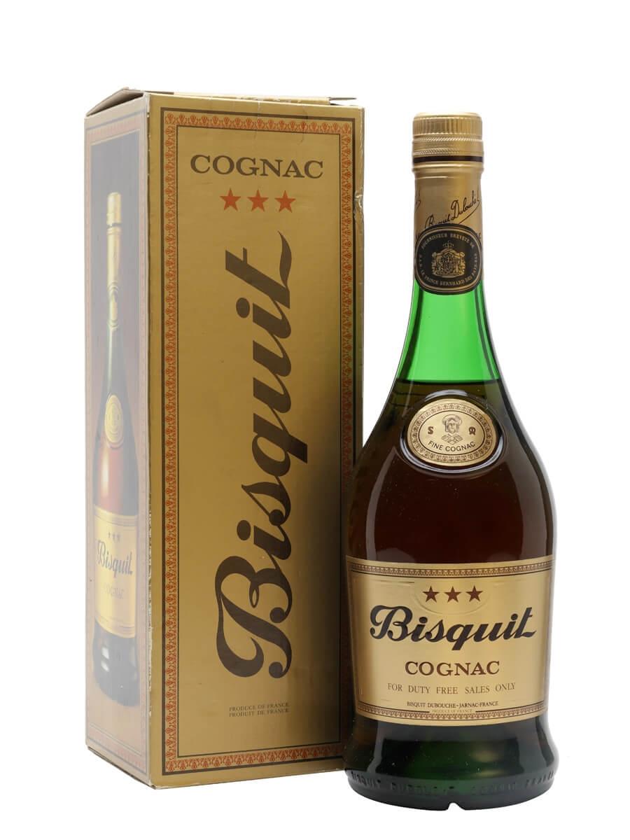 Bisquit 3 Star Cognac / Bot.1980s