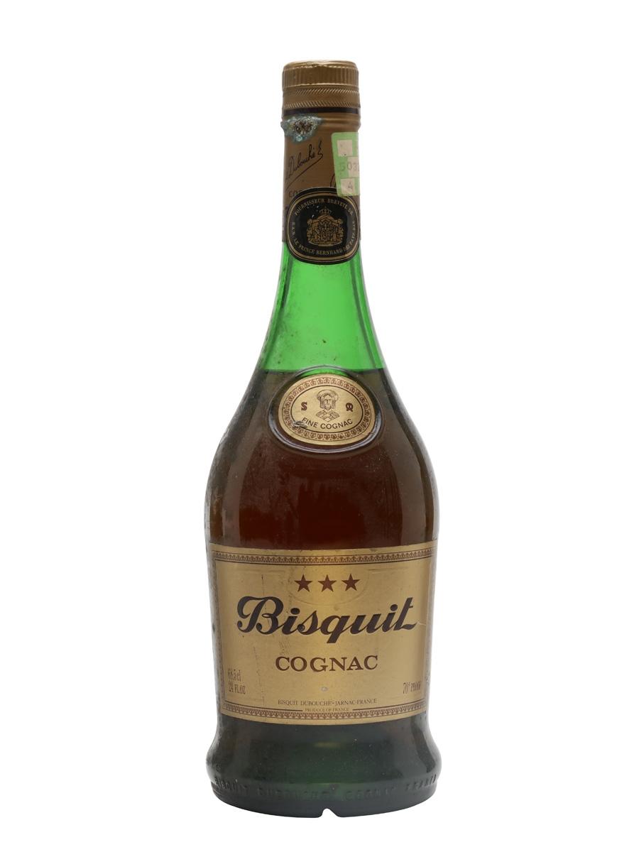 Bisquit 3 Stars Cognac / Bot.1970s