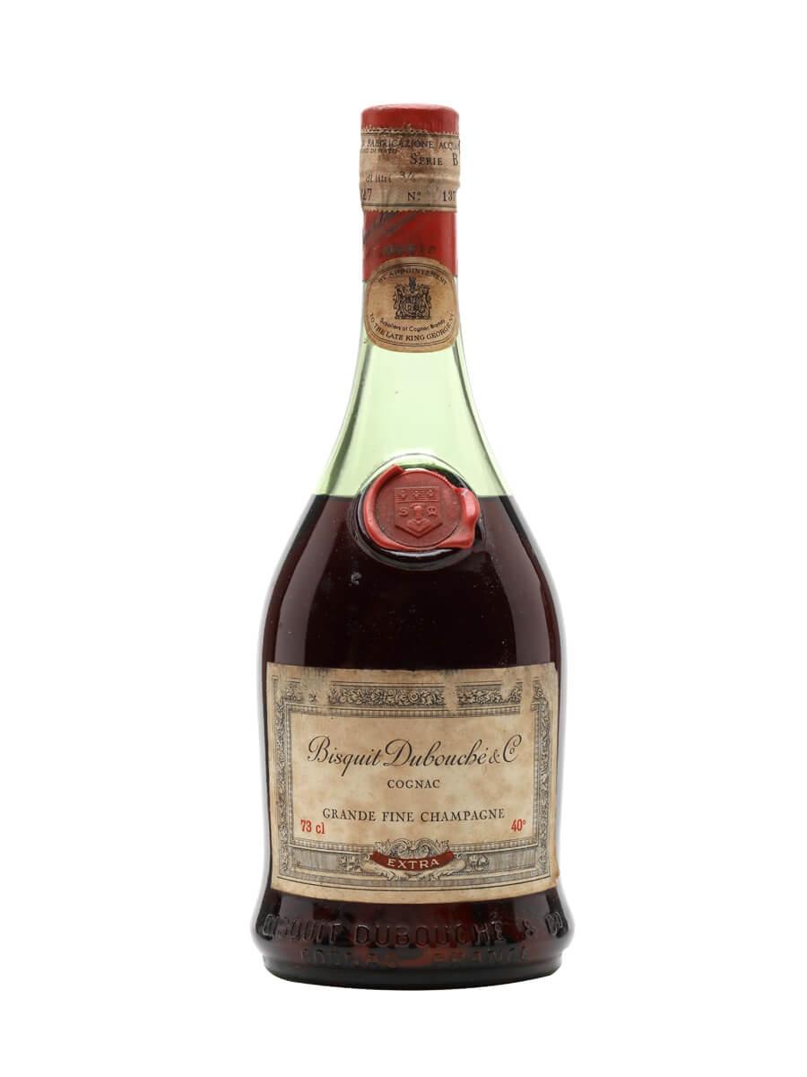 Bisquit Dubouche Extra Cognac / Bot. 1950s