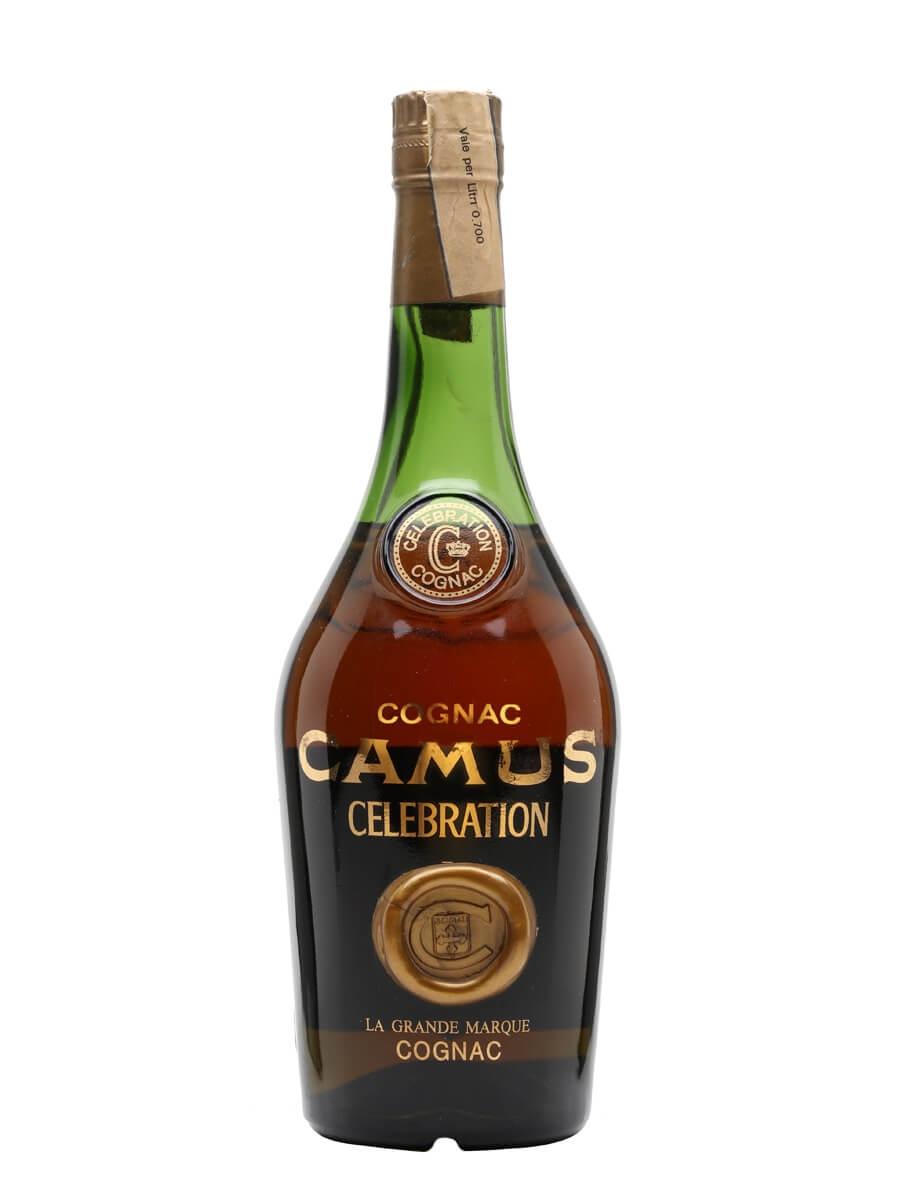 Camus Celebration Cognac / Bot.1970s