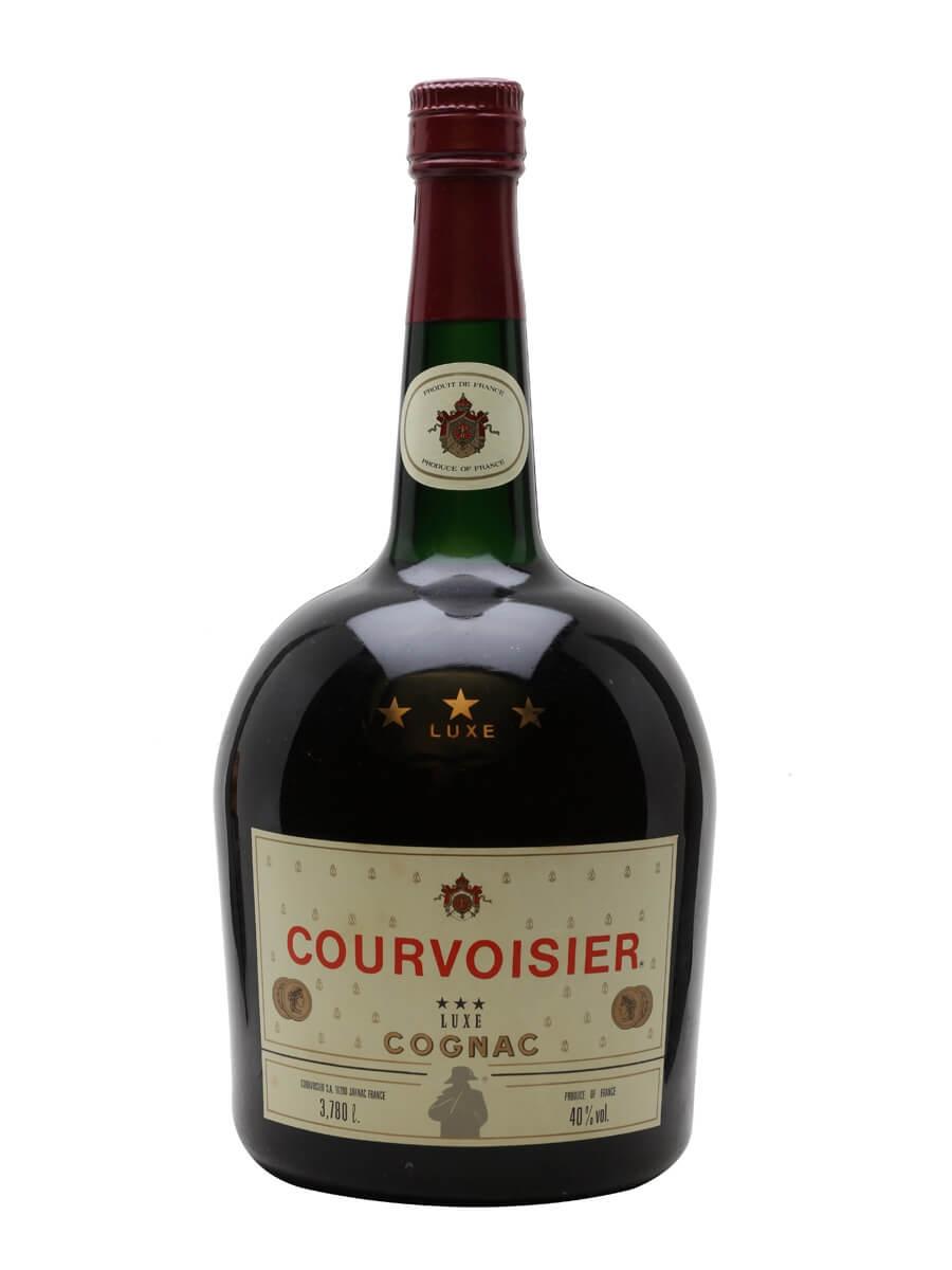 Courvoisier 3 Stars Luxe Cognac / Bot.1970s / US Gallon