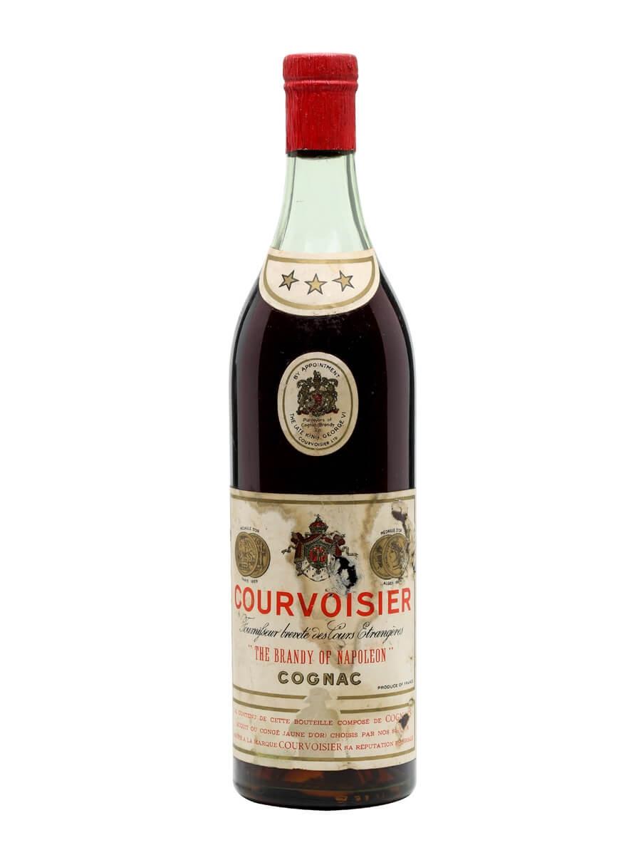 Courvoisier 3 Star Cognac / Bot.1950s