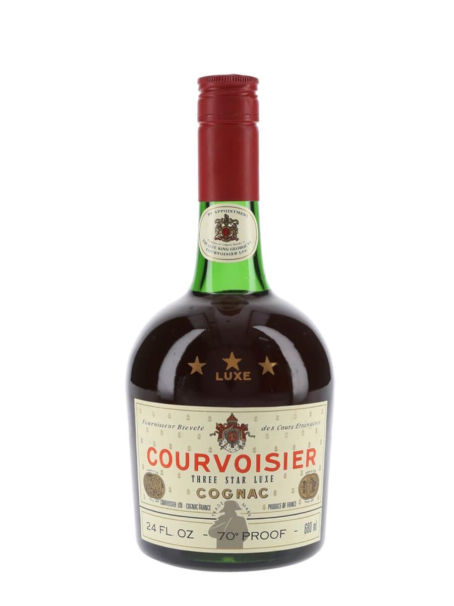 Courvoisier 3 Star Cognac / Bot.1970s