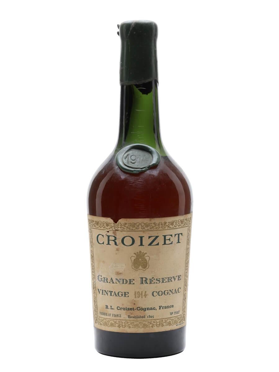 Croizet Grande Reserve 1914 Cognac / Bot.1950s