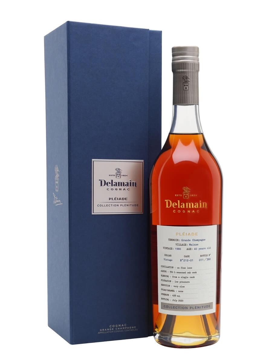Delamain Collection Plenitude 1980 Cognac / 40 Year Old / Pleiade