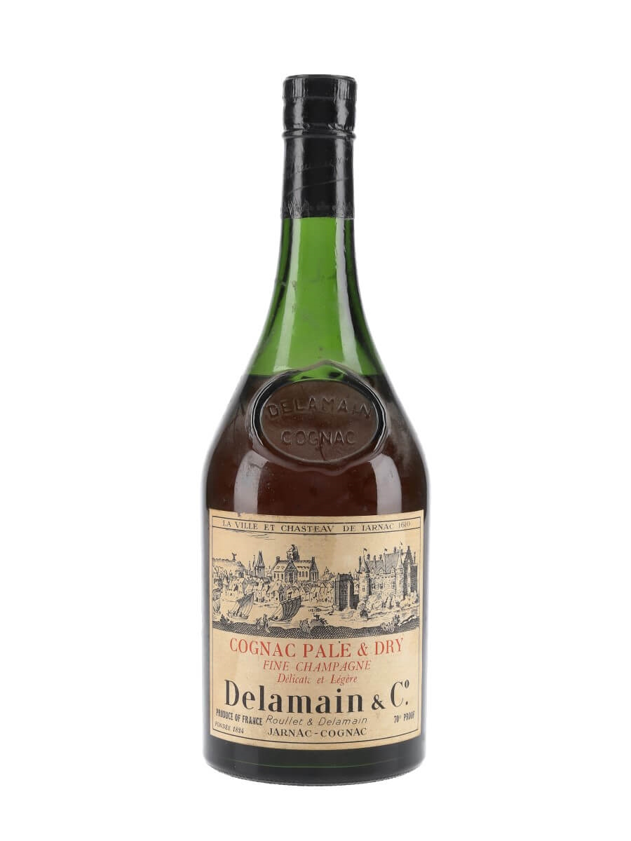 Delamain Pale & Dry Cognac / Bot.1970s