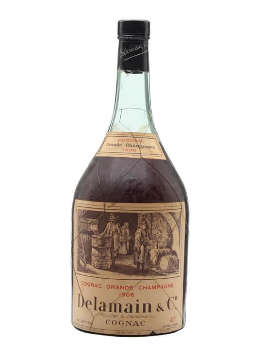 Delamain 1906 Grande Champagne Cognac / Bot.1950s / Magnum