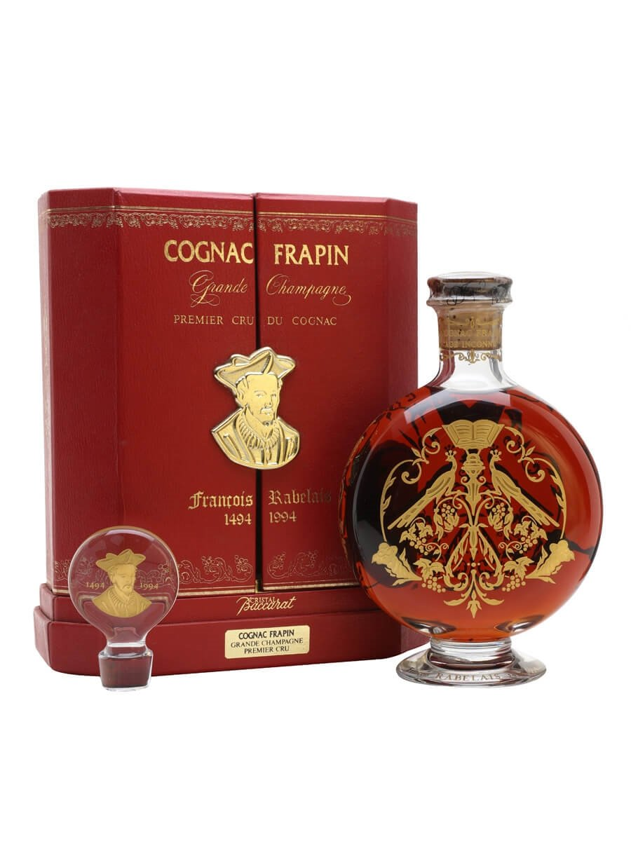 Frapin Rabelais Age Inconnu / Baccarat Crystal Decanter