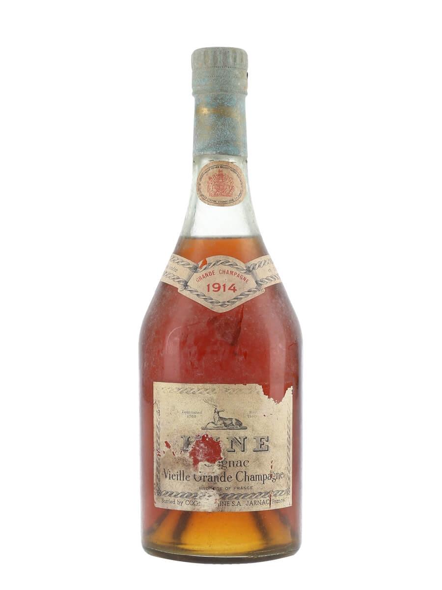 Hine 1914 Cognac / Vieille Grande Champagne / Bot.1960s