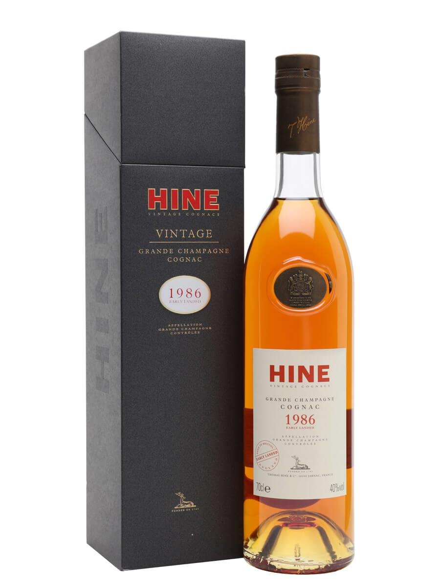 Hine 1986 Early Landed Vintage Cognac
