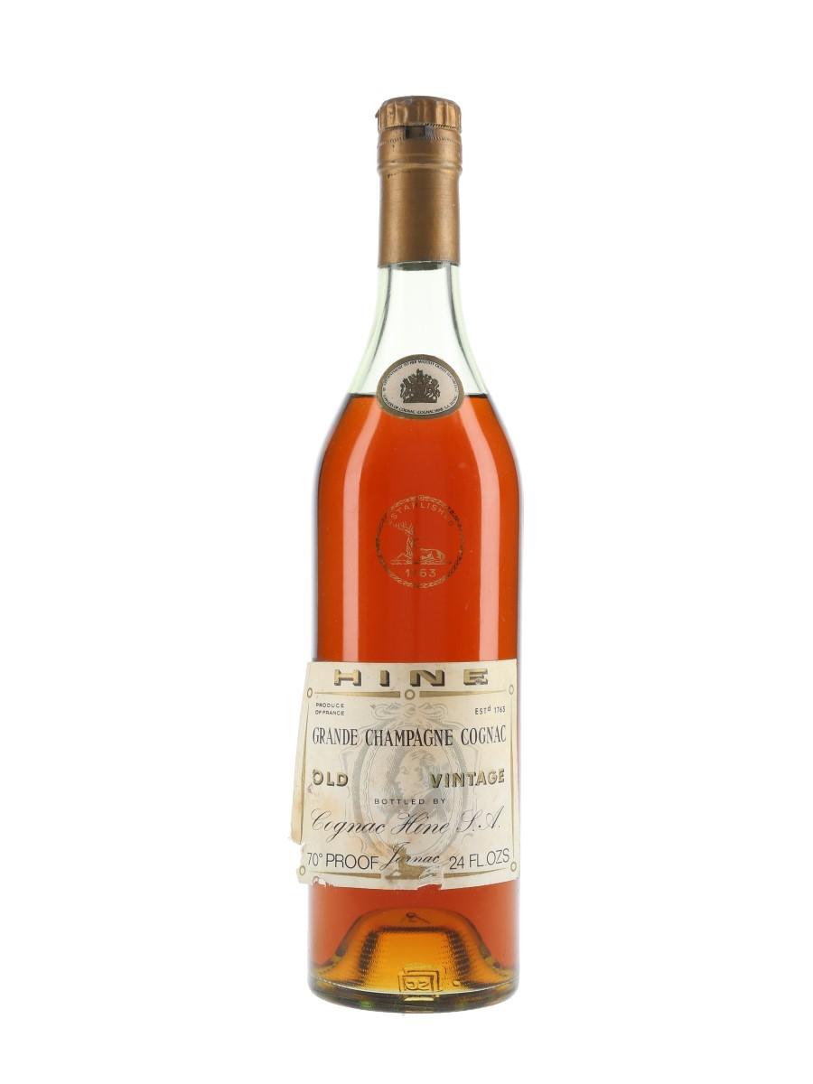 Hine Old Vintage Cognac / Grande Champagne / Bot.1960s