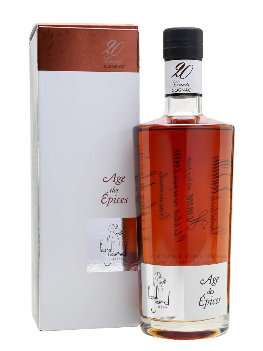 Leopold Gourmel Age Des Epices 20 Carats Cognac