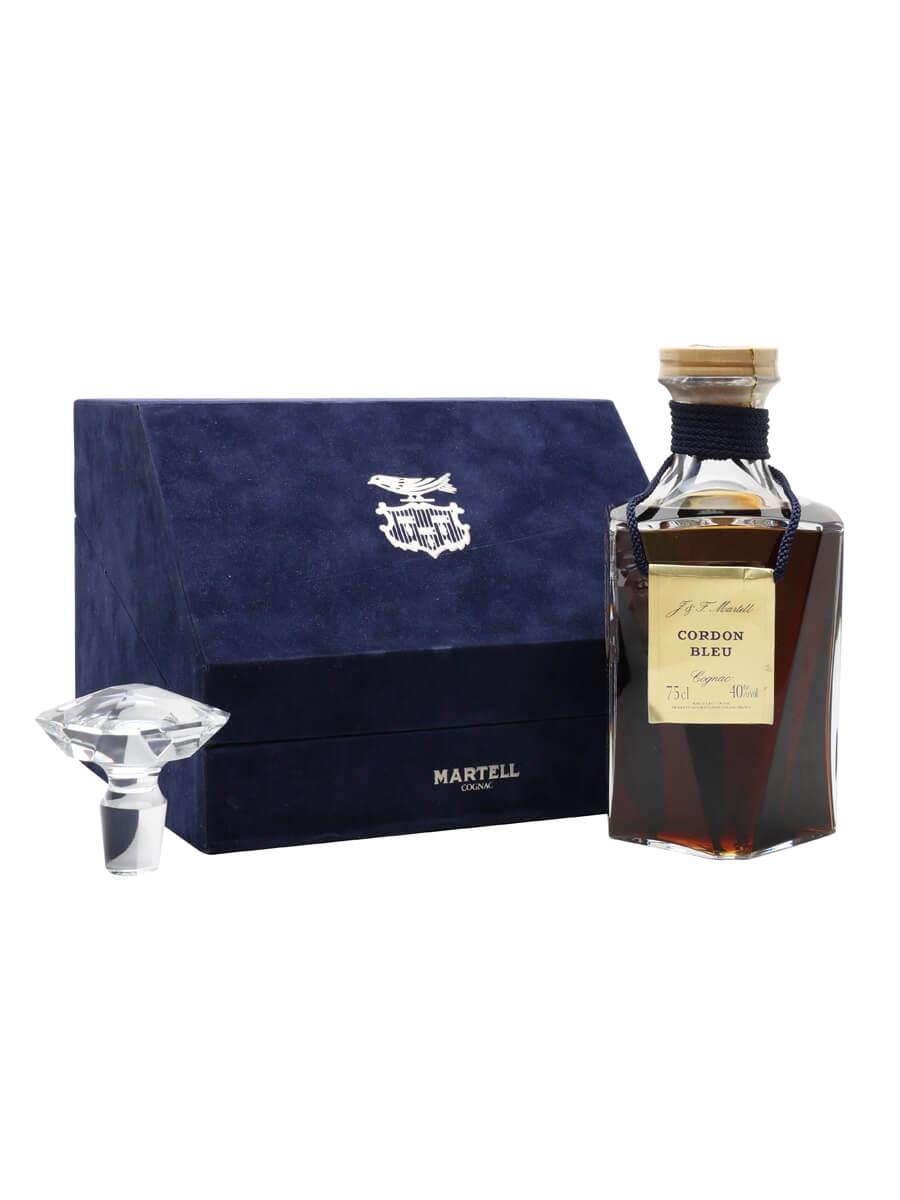 Martell Cordon Bleu Cognac Crystal / Grand National / 1980s