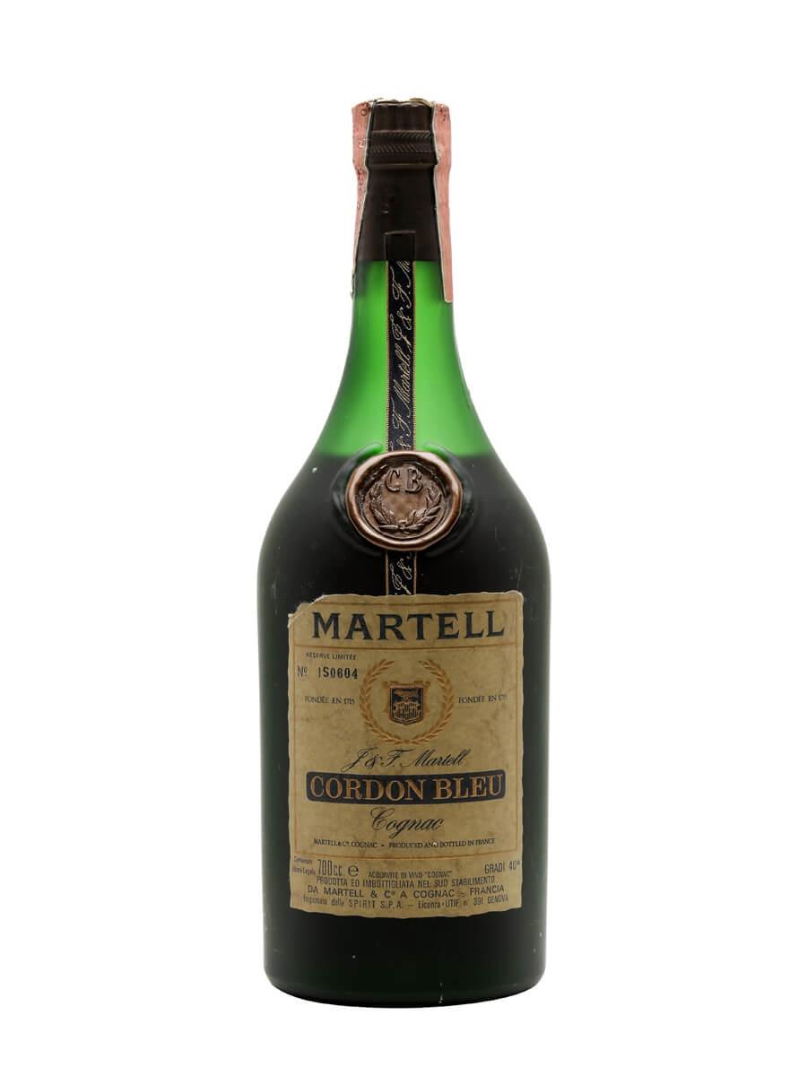 Martell Cordon Bleu Cognac / Bot.1970s