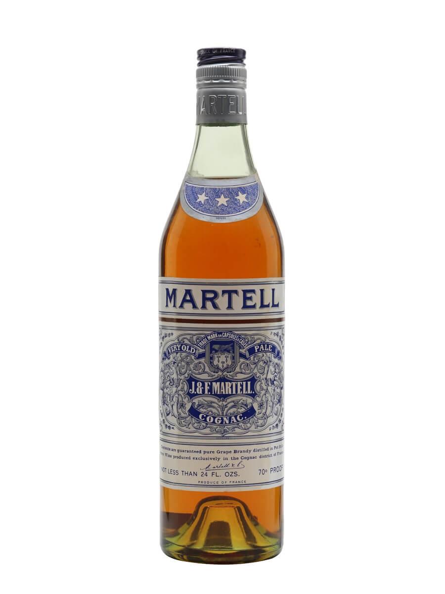 Martell VOP 3 Stars Cognac / Bot.1960s