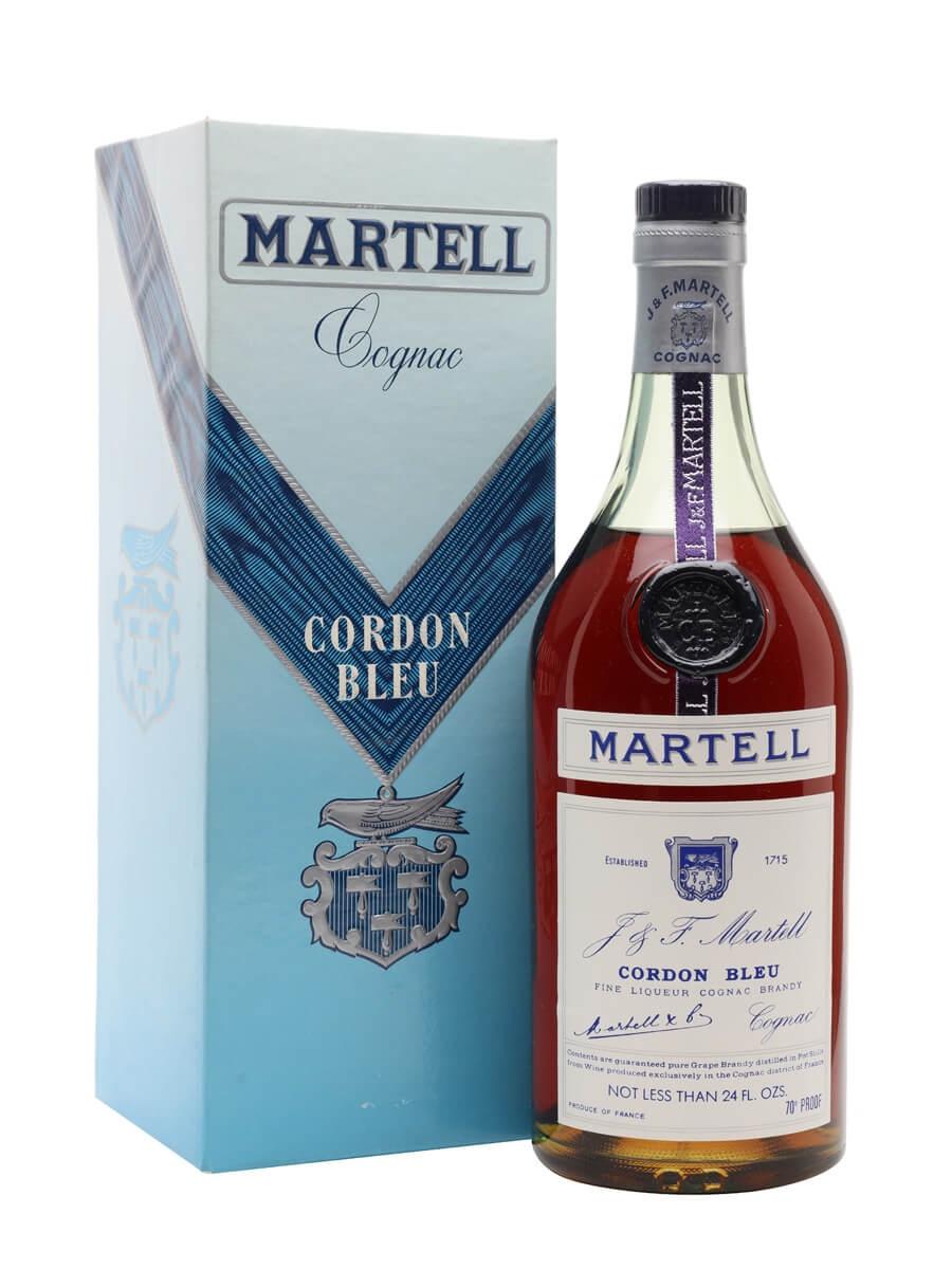 Martell Cordon Bleu Cognac / Bot.1974