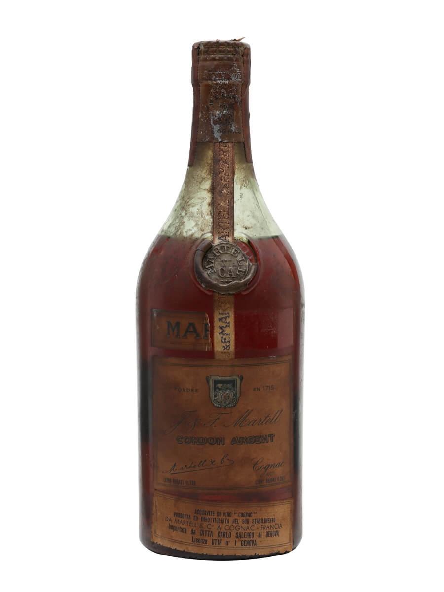 Martell Cordon Argent Cognac / Bot.1960s