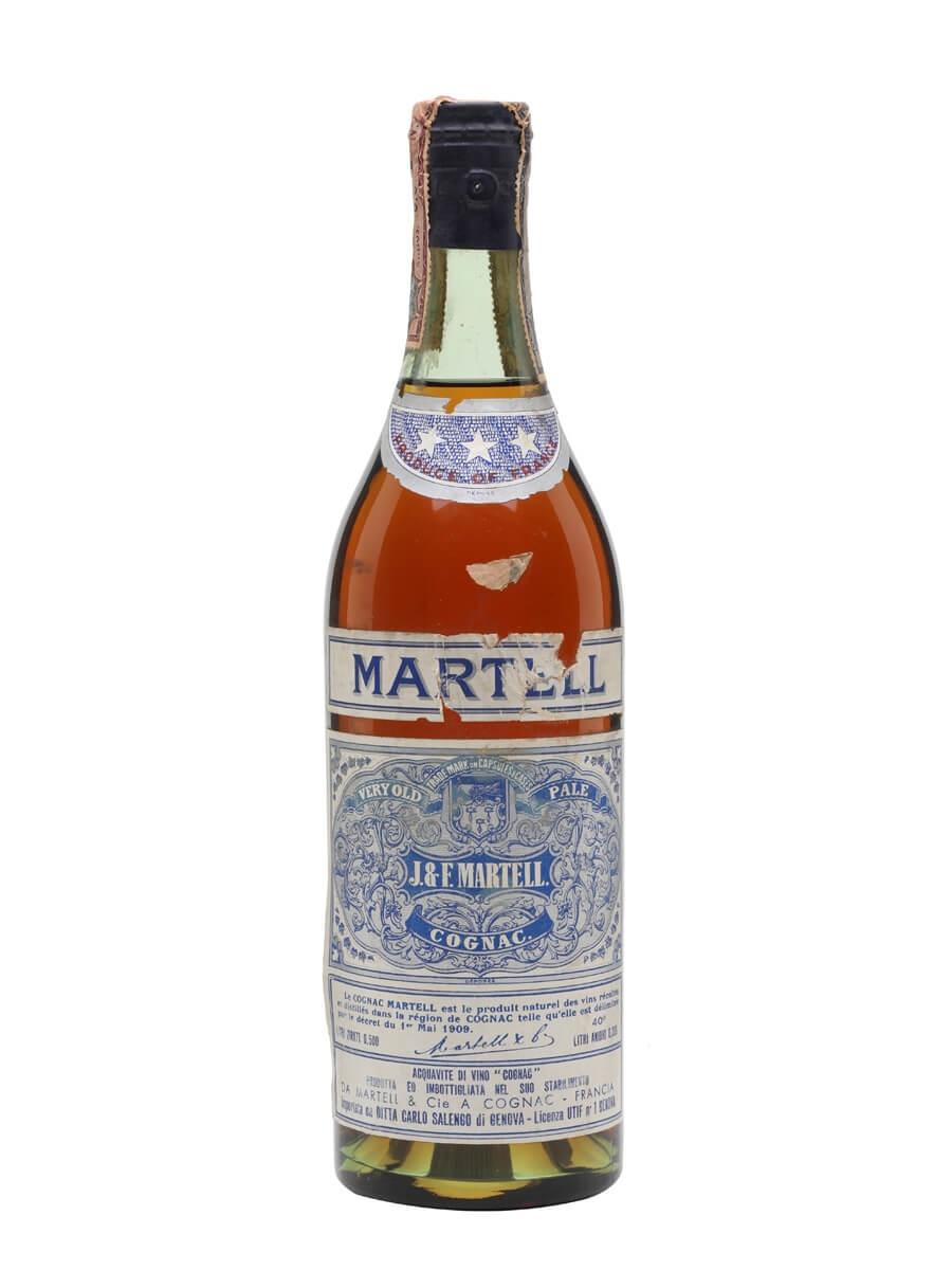 Martell VOP 3 Stars Cognac / Bot.1950s