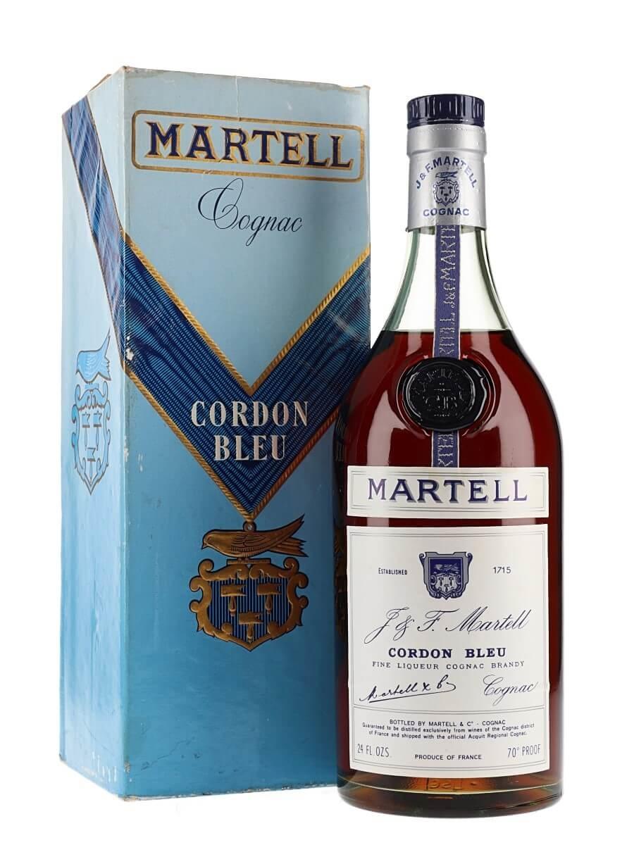 Martell Cordon Bleu Cognac / Bot.1960s