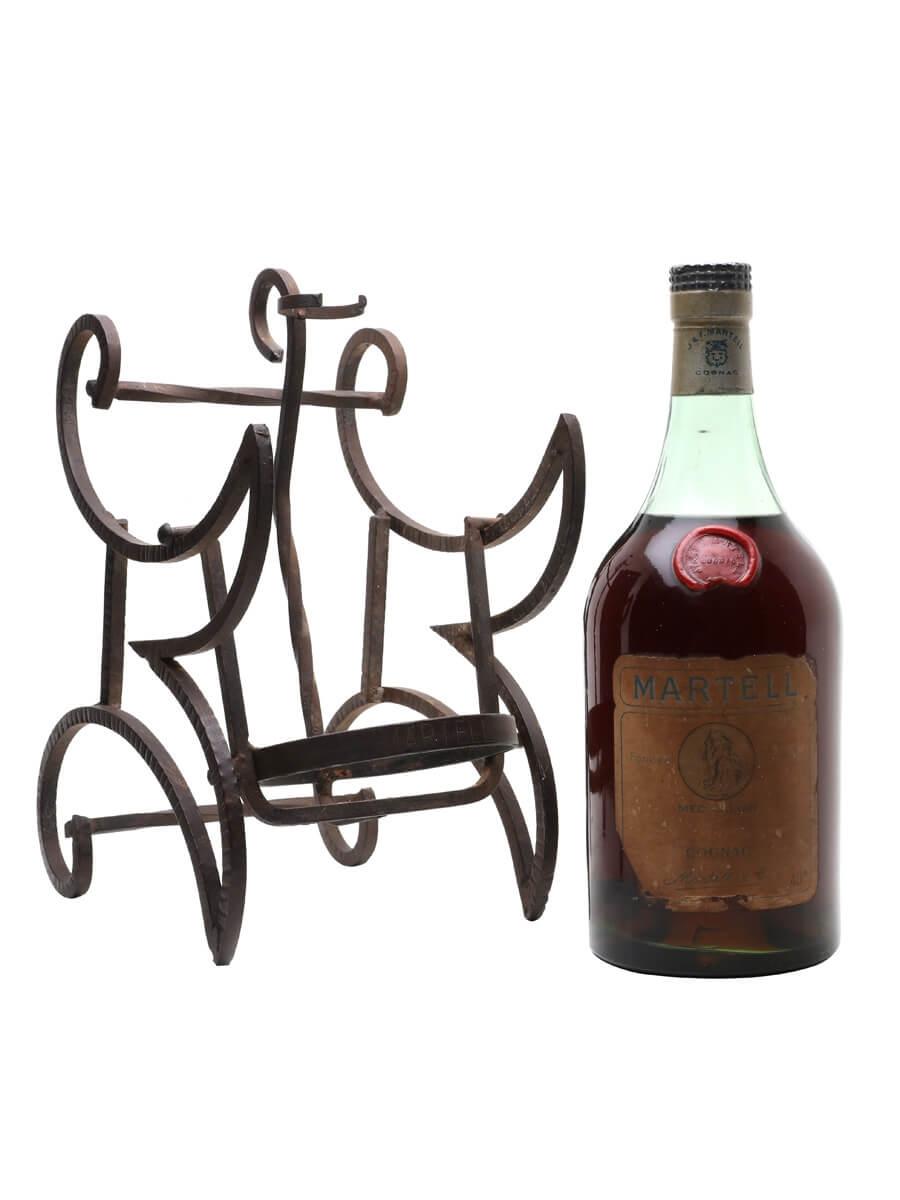 Martell Medaillon + Stand / Bot.1960s / Large Bottle