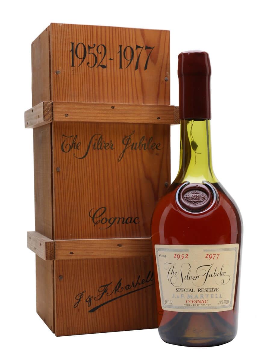 Martell Silver Jubilee Cognac (1952 - 1977)