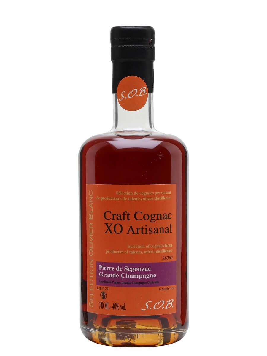 Pierre de Segonzac La Nerolle XO Artisanal Cognac