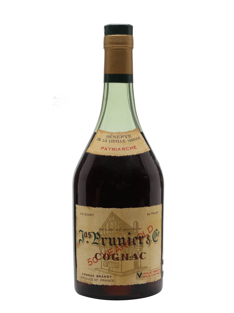 Prunier 50 Year Old Cognac / Patriarche / Bot.1970s