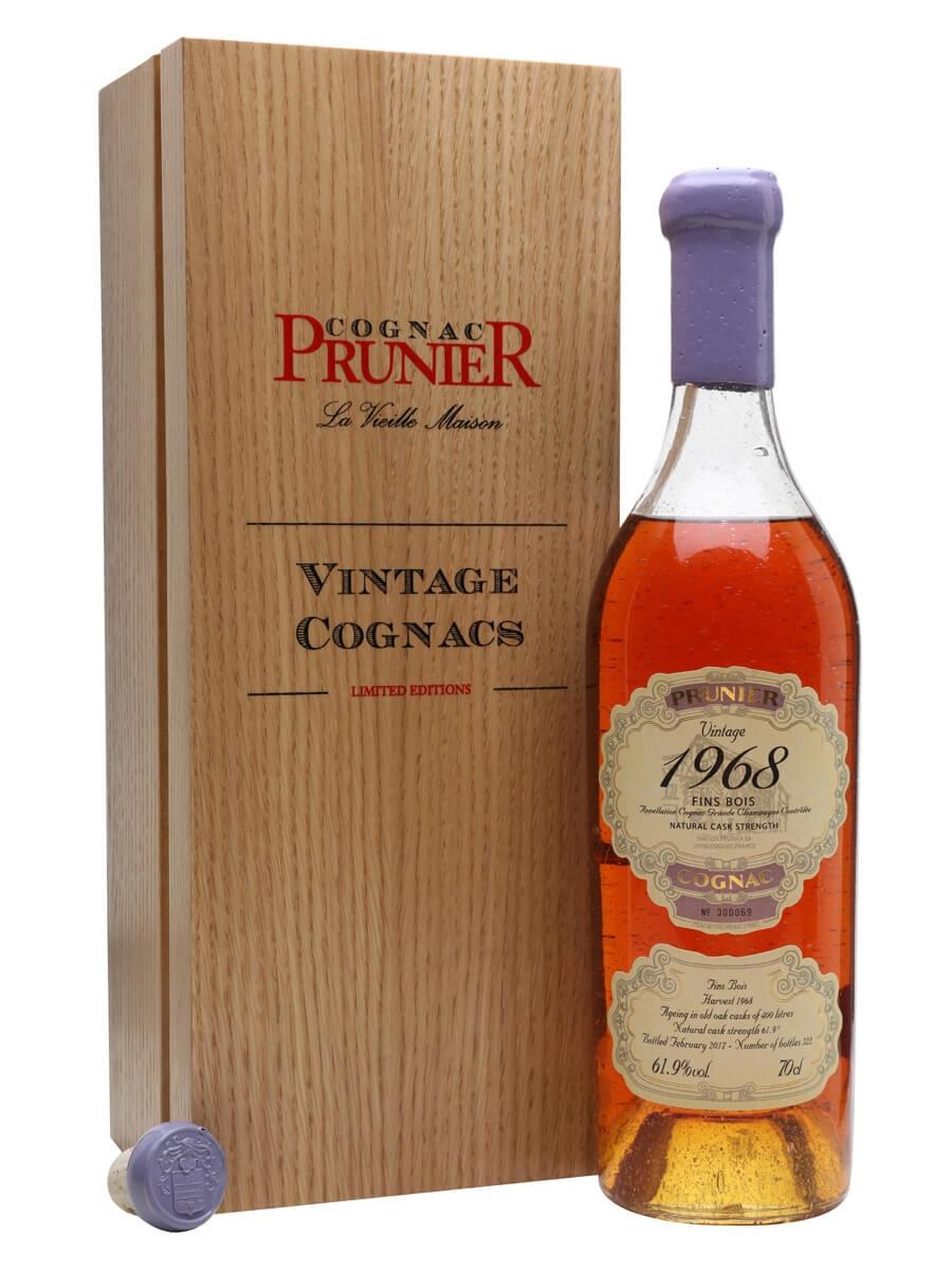 Prunier 1968 Fins Bois Cognac