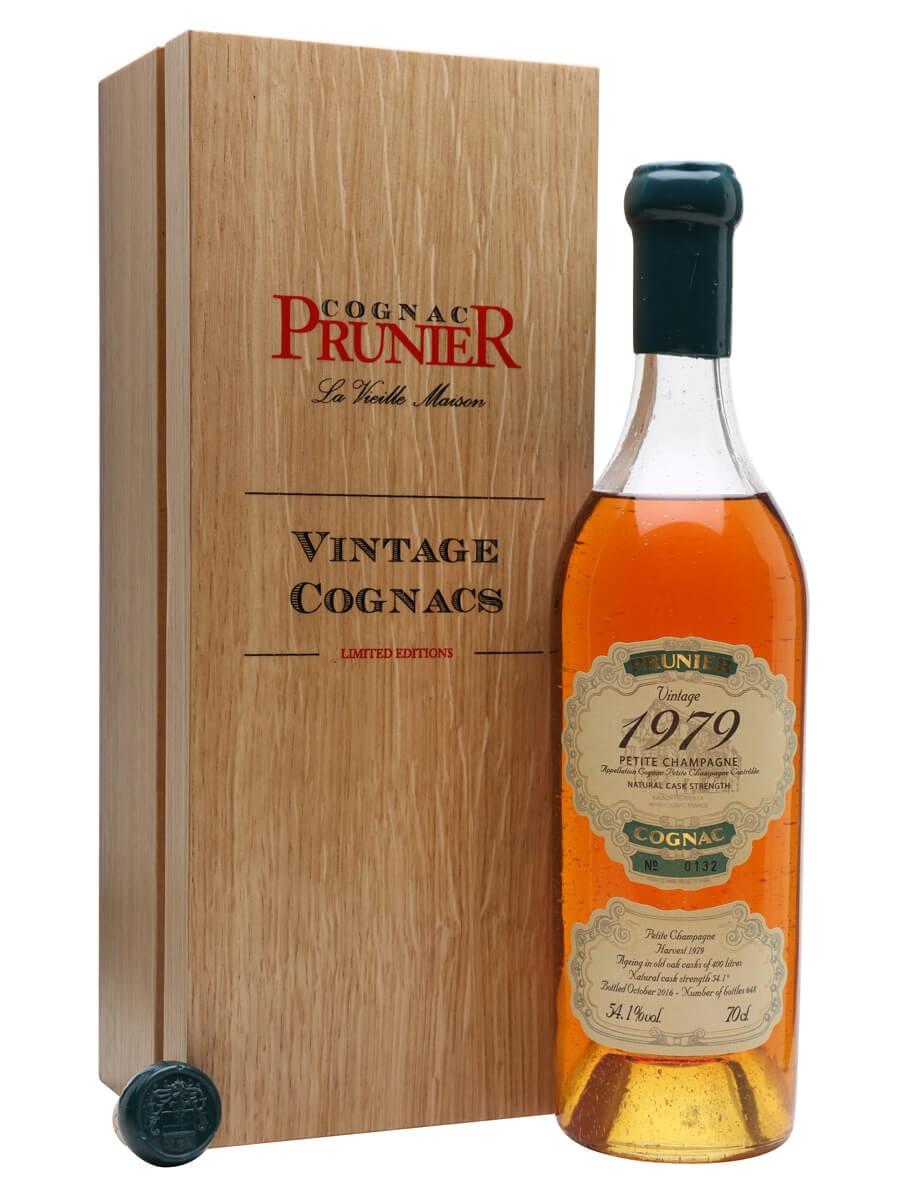 Prunier Petite Champagne 1979 Cognac
