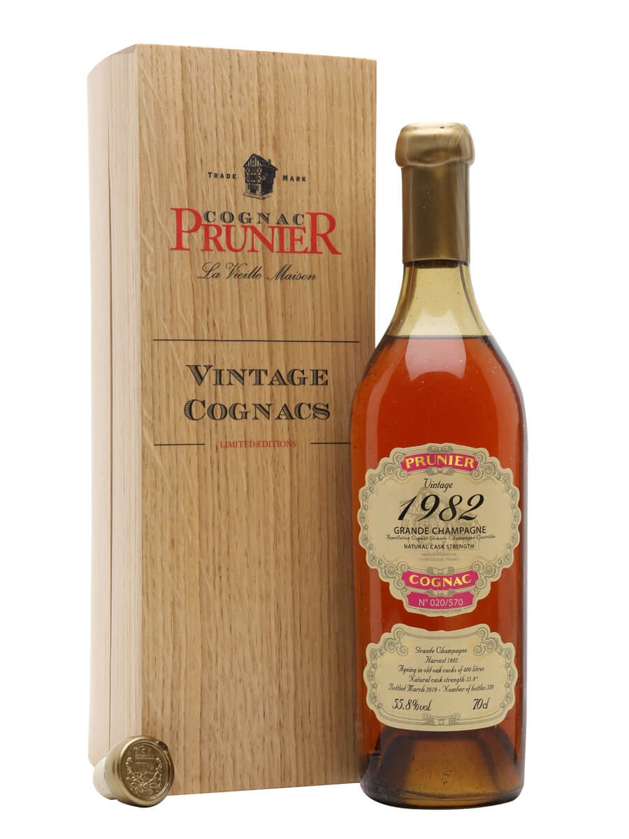 Prunier Grand Champagne 1982 Cognac