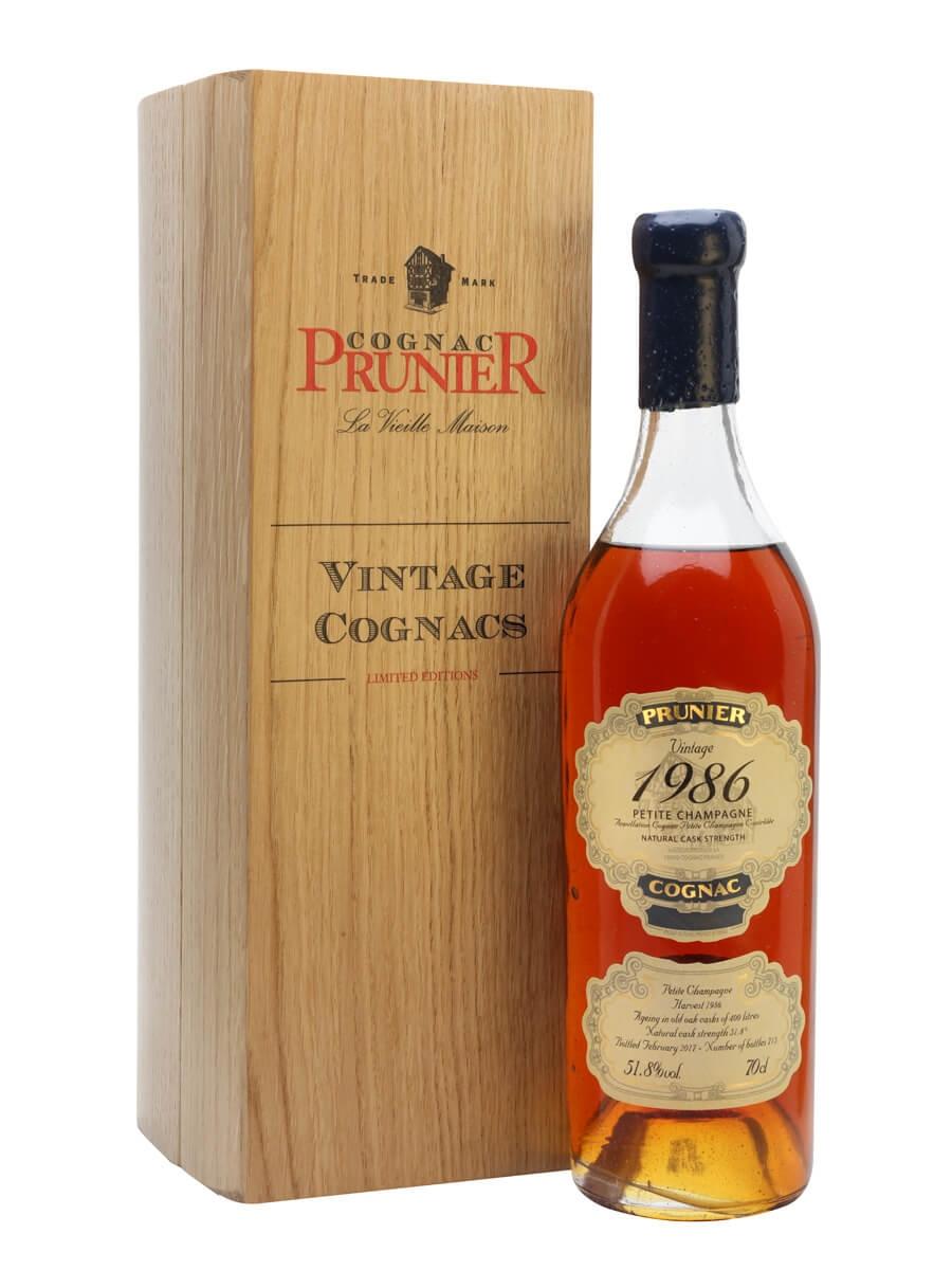 Prunier 1986 Vintage Cognac / Petite Champagne