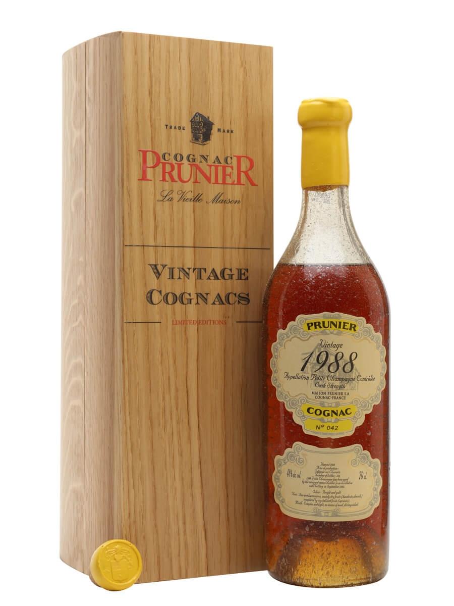 Prunier 1988 Petite Champagne Cognac