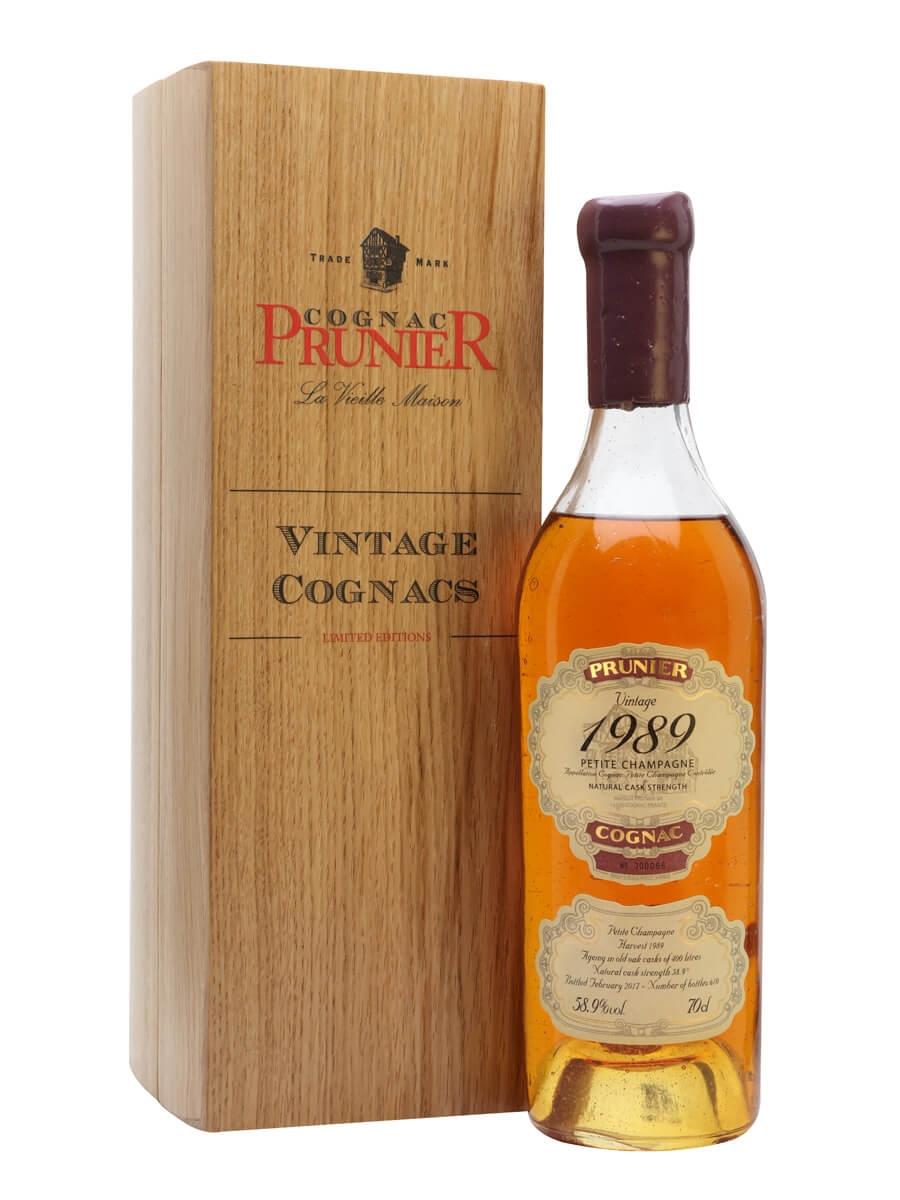 Prunier 1989 Vintage Cognac / Petite Champagne