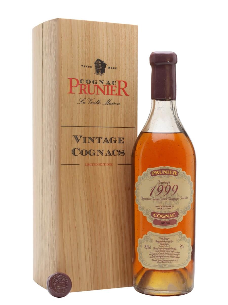 Prunier 1999 Grande Champagne Cognac