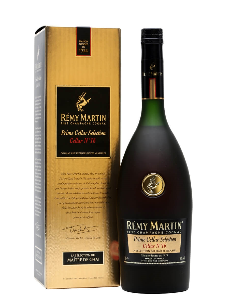 Remy Martin Prime Cellar 16 The Whisky Exchange