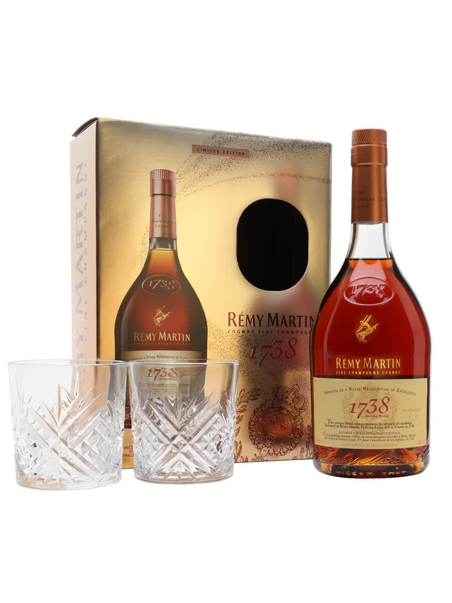Remy Martin 1738 Accord Royal CognacGlass Pack