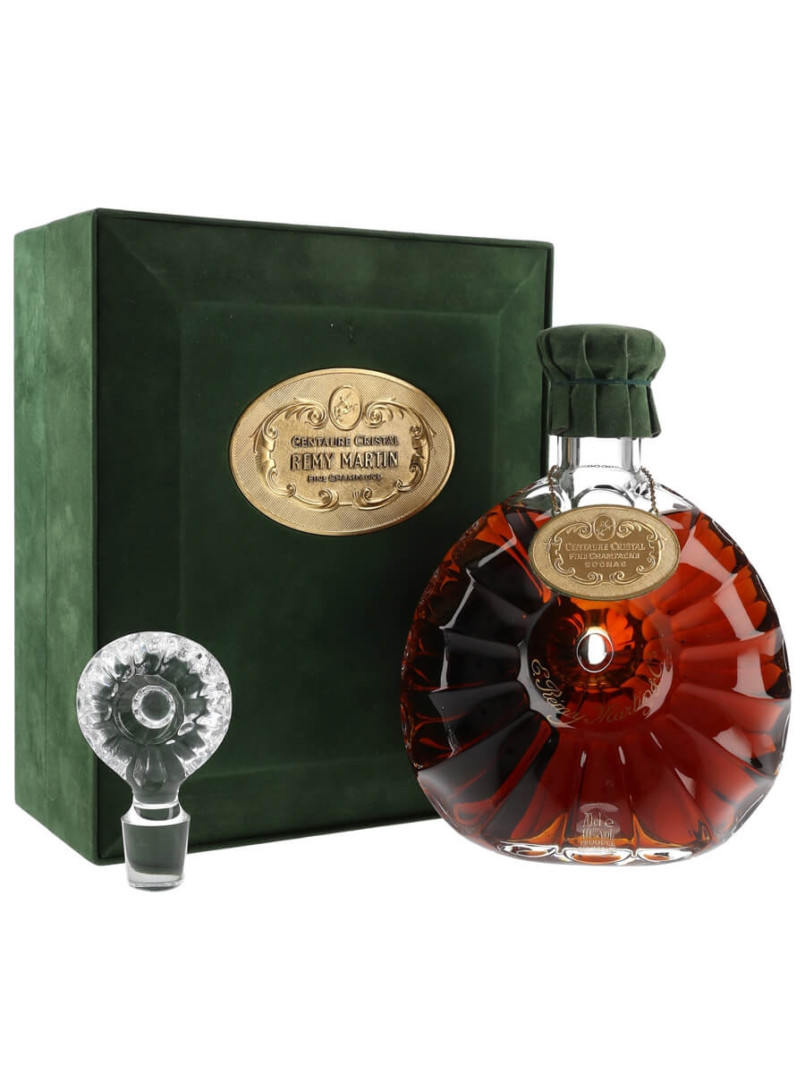 Remy Martin Centaure Cognac / Baccarat Crystal Decanter