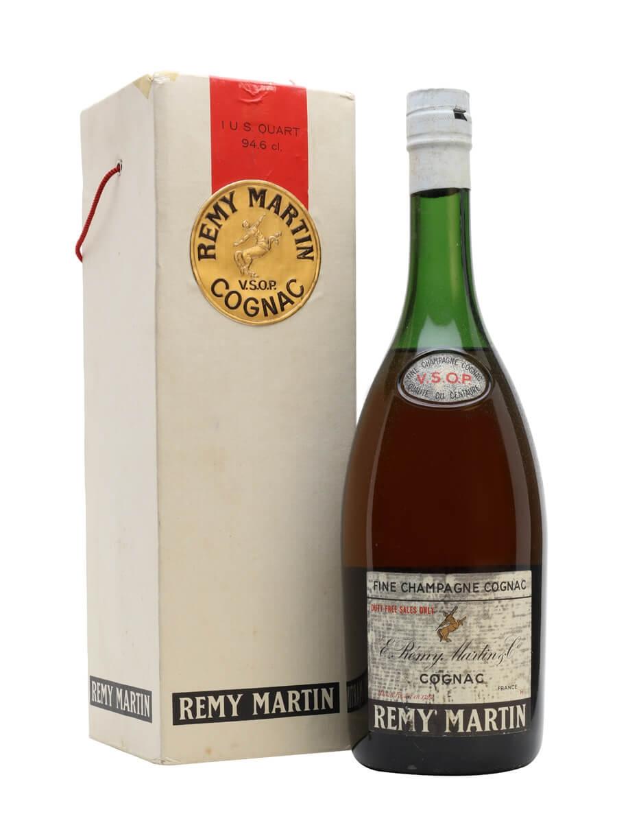 Remy Martin VSOP Cognac / Bot.1960s / Large Bottle