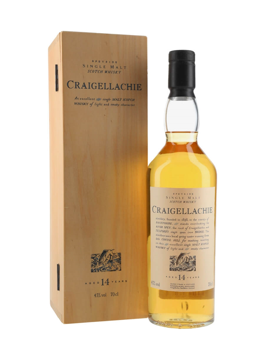 Craigellachie 14 Year Old / Wooden Box