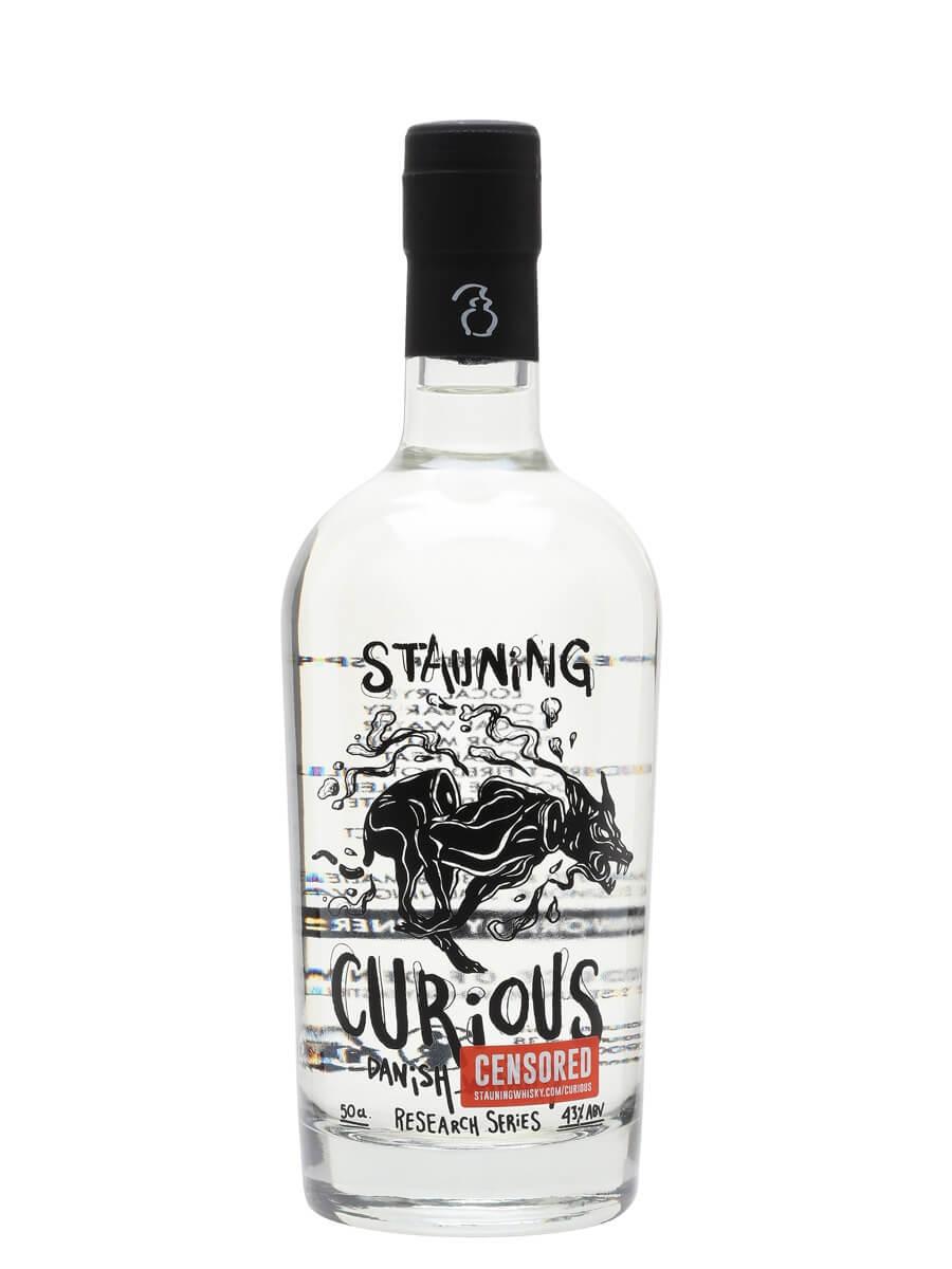 Stauning Curious Peated Rye White Spirit