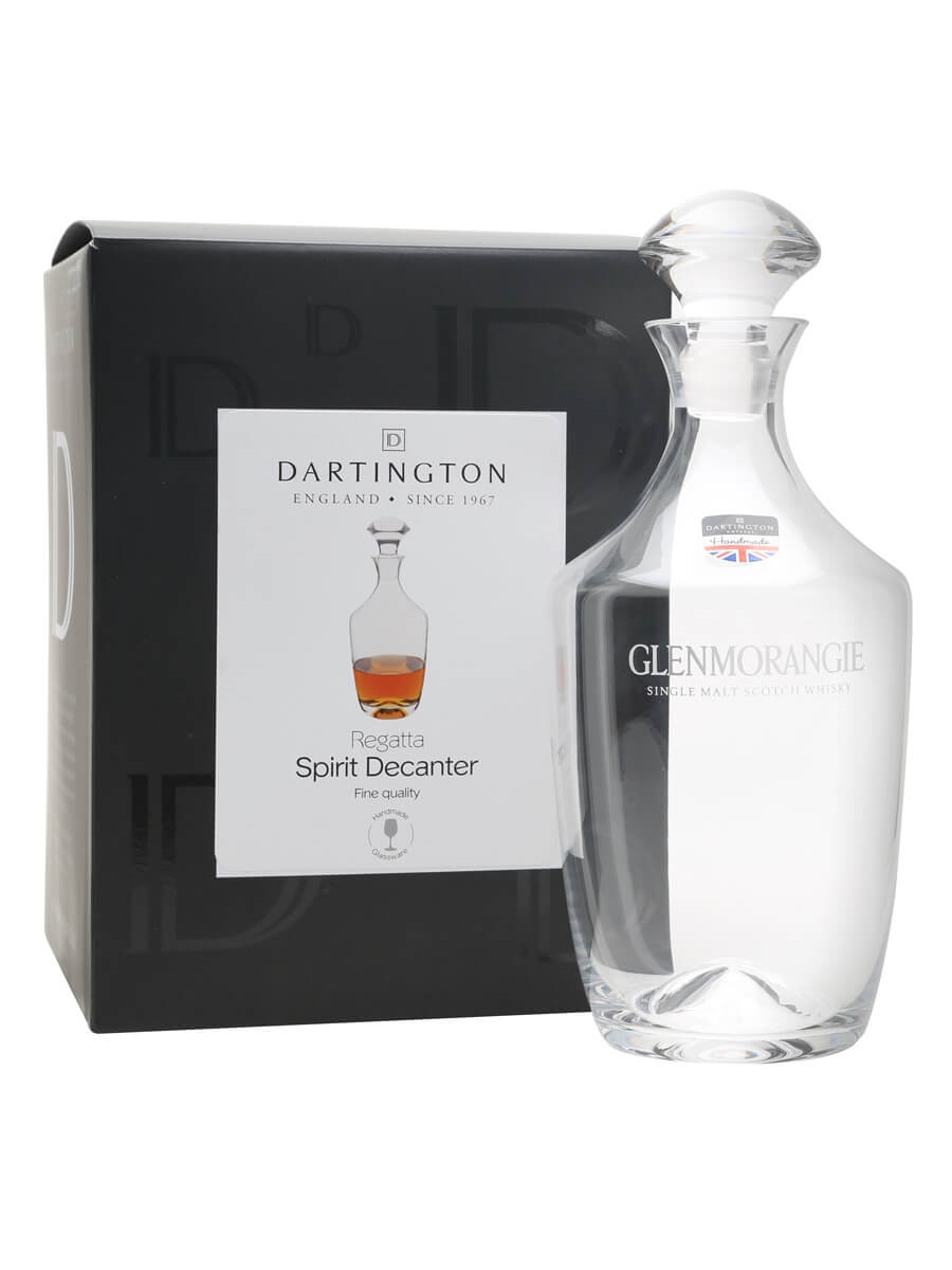 Dartington Crystal Regatta Decanter / Glenmorangie
