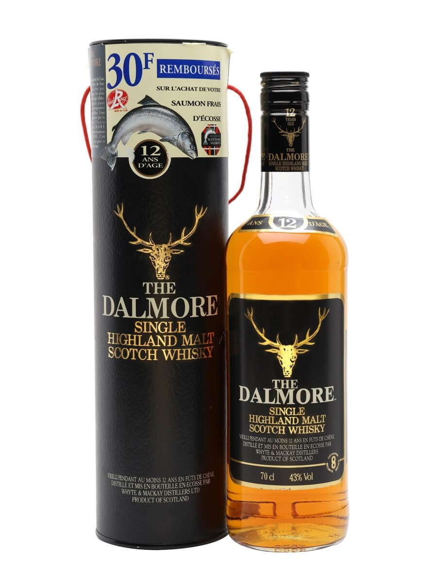 Dalmore 12 Year Old / Bot.1980s