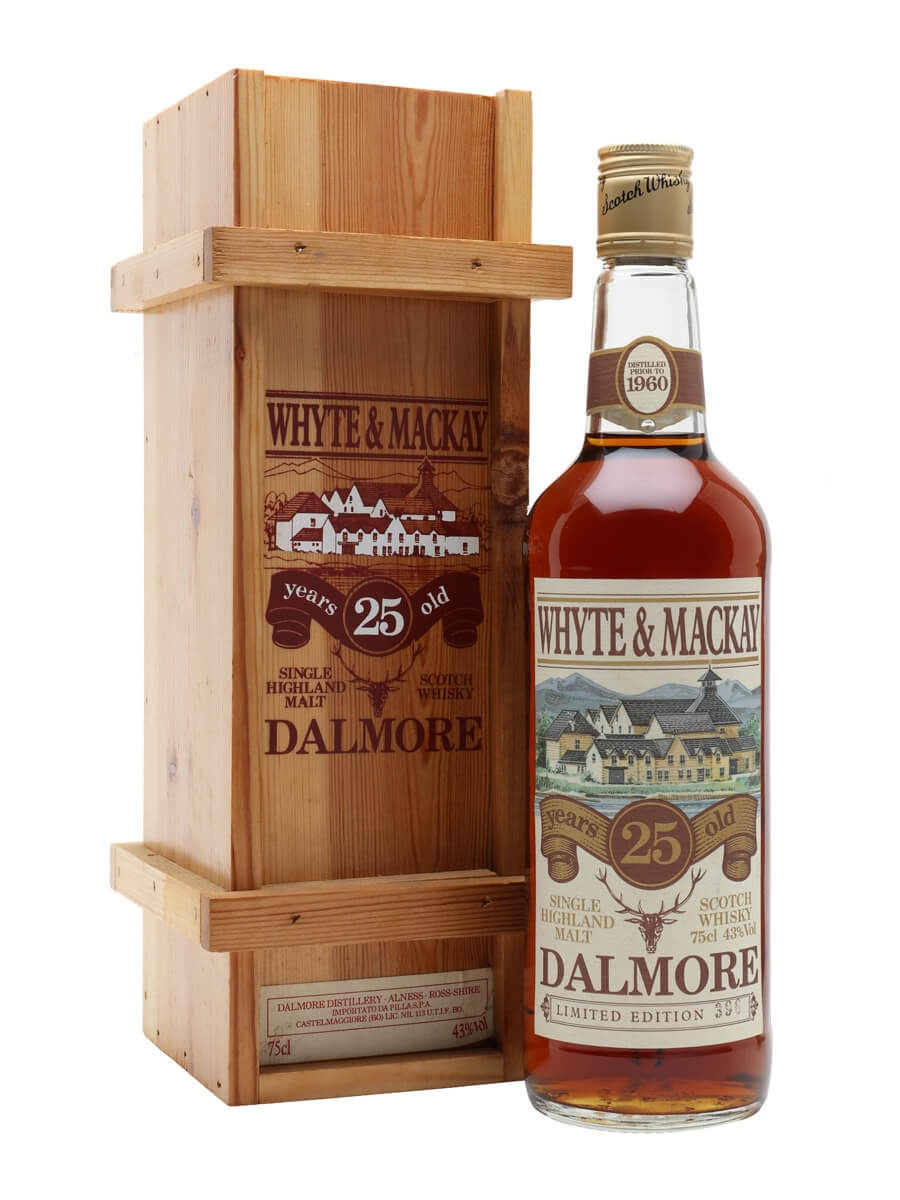 Dalmore 25 Year Old / Distilled Prior to 1960 / Bot.1980s