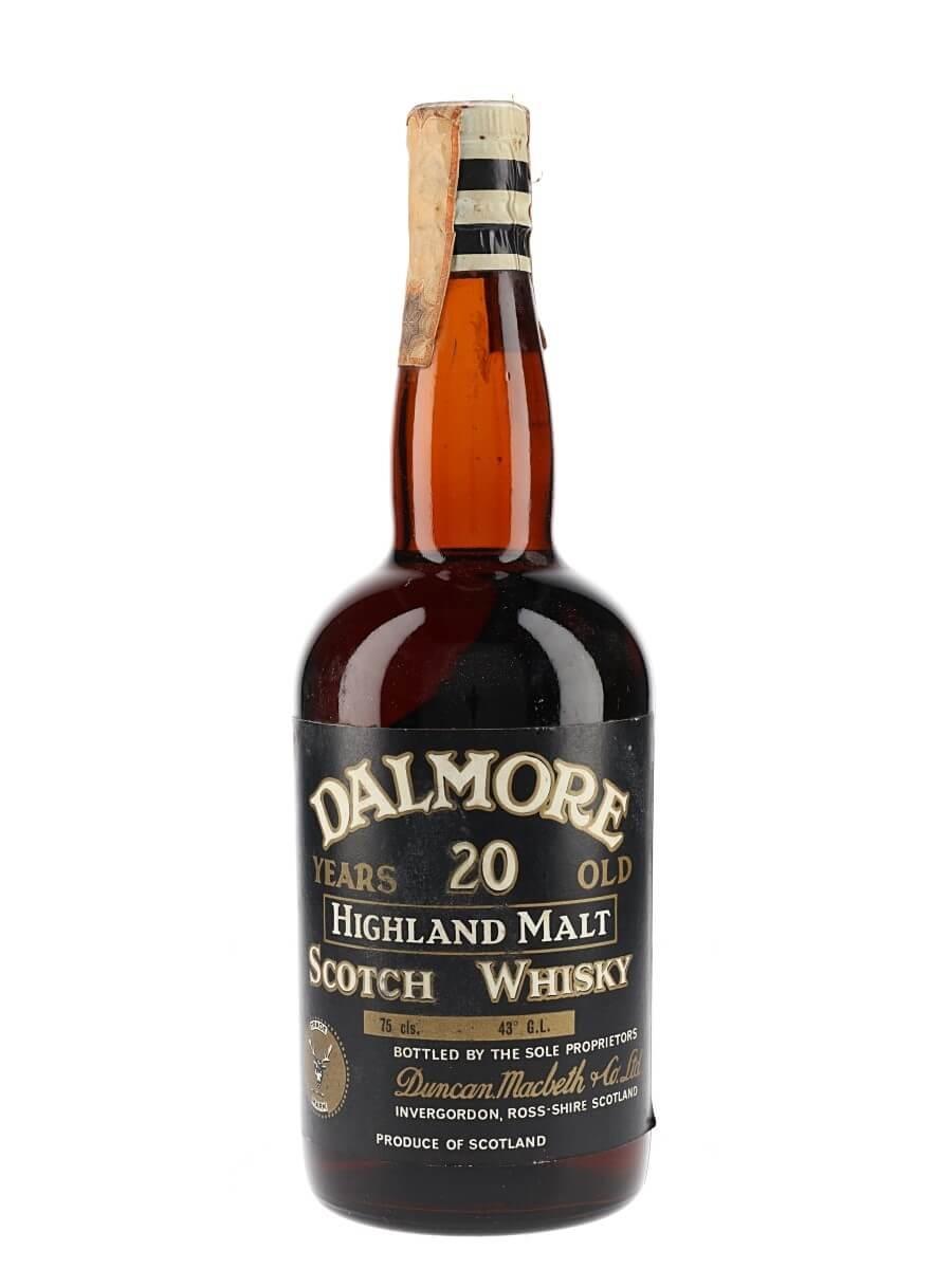 Dalmore 20 Year Old / Bot.1960s