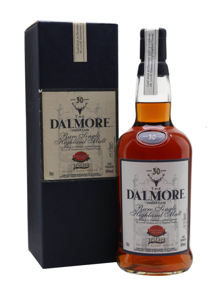 Dalmore 30 Year Old / Shepherd Neame / Sherry Cask