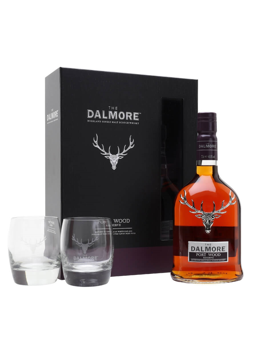 Dalmore Port Wood Reserve Gift Set