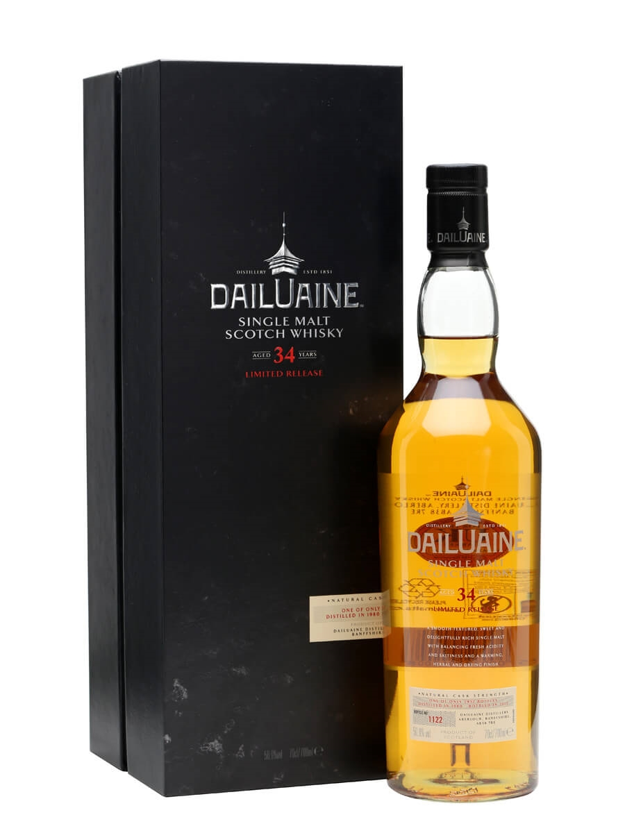 Dailuaine 1980 / 34 Year Old / Special Releases 2015